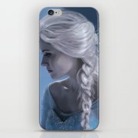 elsa iPhone & iPod Skins featuring Elsa by LindaMarieAnson