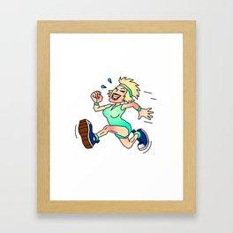 ironwoman Framed Art Print