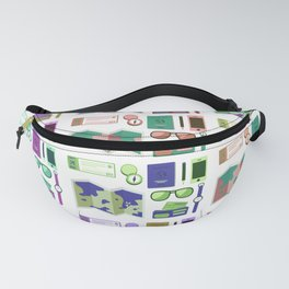 Traveling Icons Fanny Pack