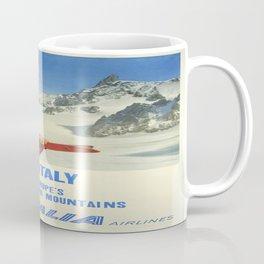 Vintage poster - Ski Italy Coffee Mug