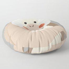 Orang Utan, Animal Portrait Floor Pillow