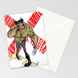 Wolvie Stationery Cards