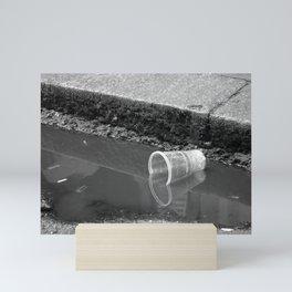 Empty cup Mini Art Print