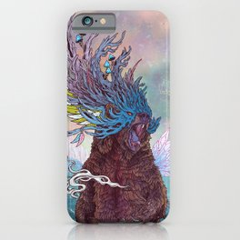 Journeying Spirit (Bear) iPhone Case