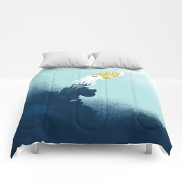 Intelligent Inker - Cranky Cuttlefish Comforters