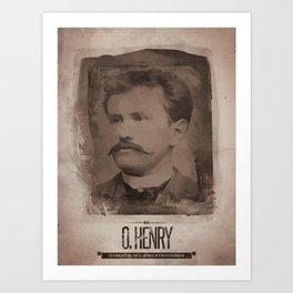 O. Henry Art Print