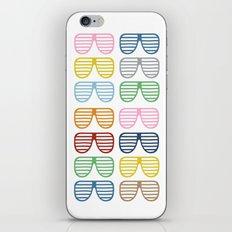 Rainbow Shades iPhone & iPod Skin