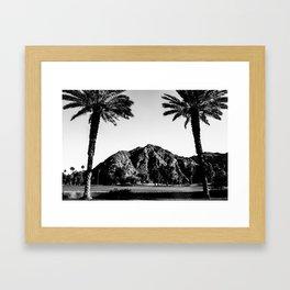 Indian Wells Framed Art Print