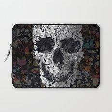 Doodle Skull Laptop Sleeve