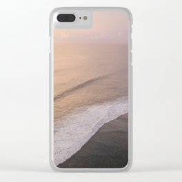 uluwatu sunset Clear iPhone Case