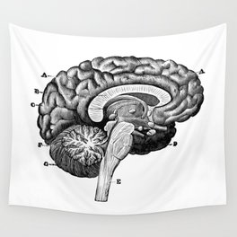 Brain 2 Wall Tapestry