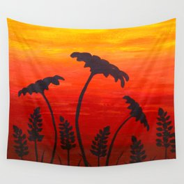 Texas Sunset Wall Tapestry