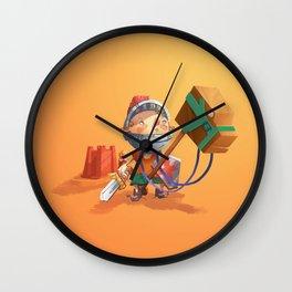 Knight Boy Wall Clock