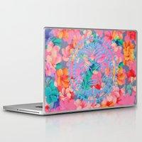 hawaii Laptop & iPad Skins featuring Hawaii by Marta Olga Klara