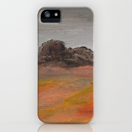 On the Crest of a Hill iPhone Case