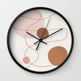 Abstract Modern Art 21 Wall Clock