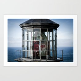 Cape Meares Lighthouse Art Print