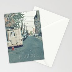 Be Inspired.  Stationery Cards