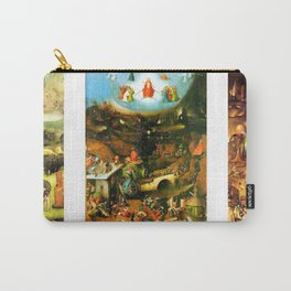 Last Judgement by Bosch c. 1482 Carry-All Pouch