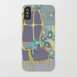 Dog in a chair #4 French Bulldog iPhone Case