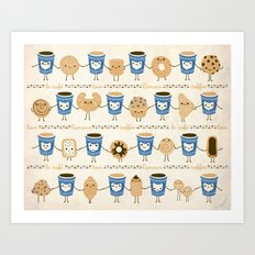 Coffee Lovin' Art Print