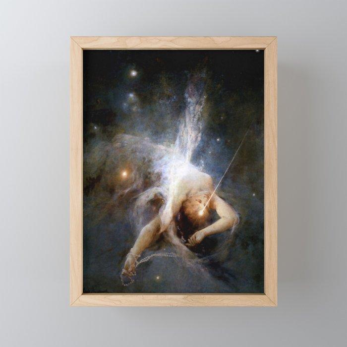 """Witold Pruszkowski """"Falling star"""" Framed Mini Art Print"""