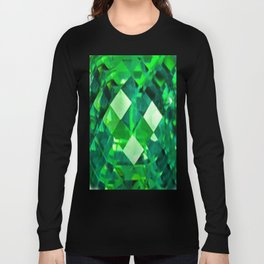 Emerald City May Emerald Birthstone Design Long Sleeve T-shirt