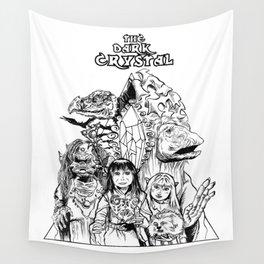 The Dark Crystal - Gelflings, Skeksis, and Mystics Wall Tapestry