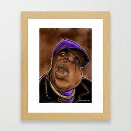 Hip Hop Caricature Resolution February 7, 2017 Framed Art Print