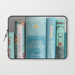 Shelfie in Aqua Laptop Sleeve
