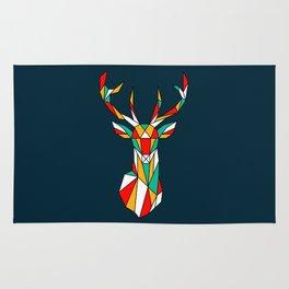 deer low polygon Rug