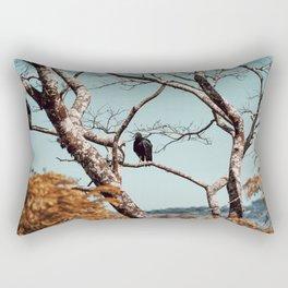 Coragyps atratus Rectangular Pillow