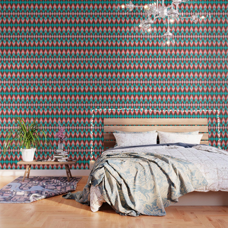 Pattern Native American Wallpaper By Muffa Society6