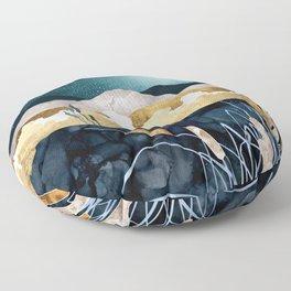 Summer Lake Floor Pillow