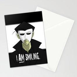Requiem Mask - I AM Smiling. Stationery Cards
