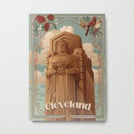 Guardian of Traffic Metal Print
