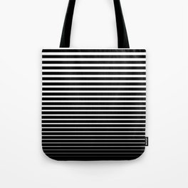Line Gradient Tote Bag