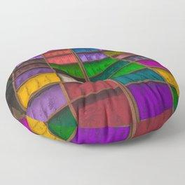 The Colors of Kathmandu City 01 Floor Pillow