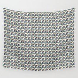 Birds - Deeppink Wall Tapestry