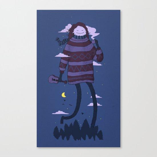 Strollin Canvas Print