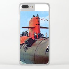 USS GEORGE WASHINGTON CARVER (SSBN-656) Clear iPhone Case