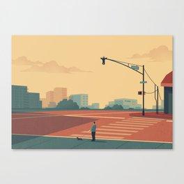 Urban Wildlife - Giraffe Canvas Print