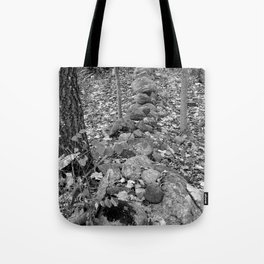 Wall in the Woods Tote Bag