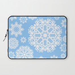 Winterland Blue Laptop Sleeve