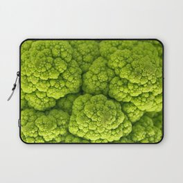 Green Cauliflower Macro Laptop Sleeve