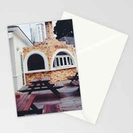 Pizzeria Beach Stationery Cards