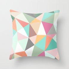 Ice Cream Tris Throw Pillow