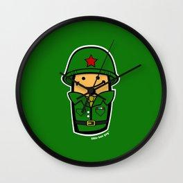 LBG Soldier. Wall Clock