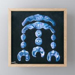 Blue Elemental Framed Mini Art Print