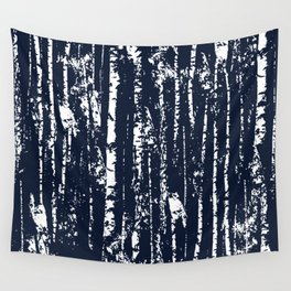Texture night forest  Wall Tapestry